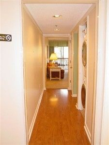 Gorgeous hardwood floors in foyer & hallway create a relaxing atmosphere!
