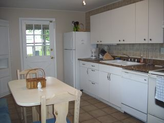 Colonial Beach cottage photo - Large kitchen for fixing great meals