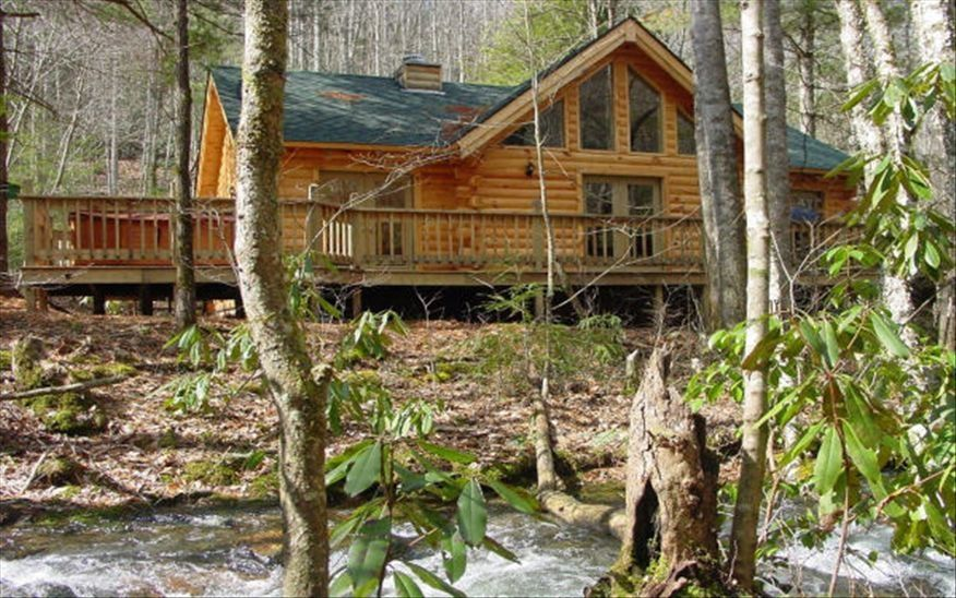 A mountain paradise on collett creek in vrbo for 8 bedroom cabins in north carolina