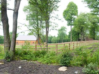 Seven Springs house photo - View from driveway at Redwood neighboring horse ranch