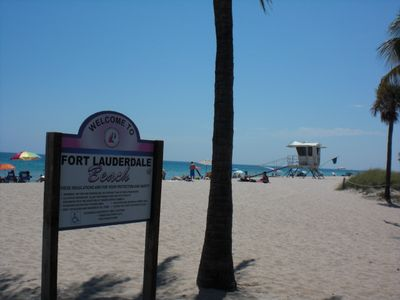 Welcome to Fort Lauderdale Beach