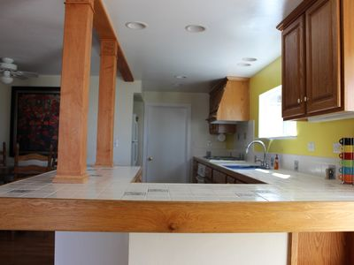 Bright and well equipped kitchen
