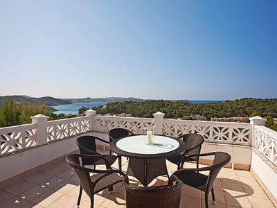 Fantastic duplex apartment with pool and panoramic sea view - absolutely great !!!