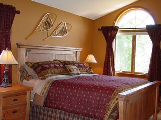 Lake Pepin house photo - Bedroom # 1 with king size bed, located on the main level with attached bath.
