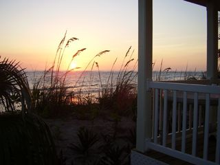 North Palmetto Point cottage photo - Sunrise At Cottage