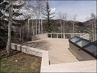 Snowmass Village house photo - Large Deck with Views!