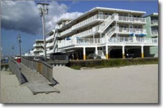 Wildwood Crest condo photo - Right off the Beach!!!