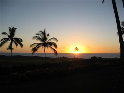 Mauna Lani townhome rental - Enjoy the magnificent sunsets at the Point