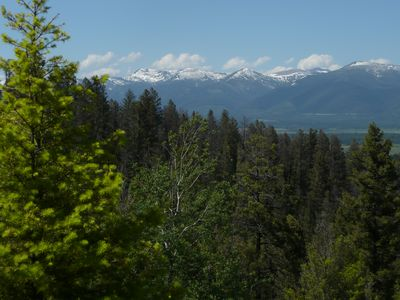 View of Scapegoat Wilderness