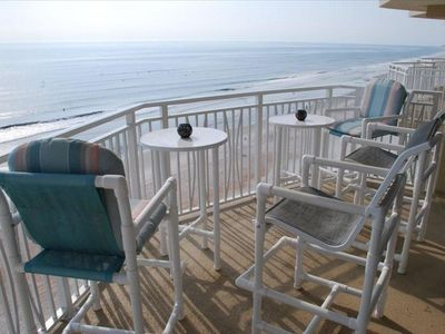 Port Orange condo rental - Balcony Top Floor