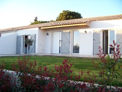 Storey Villa Portiragnes for 6 to 8 people