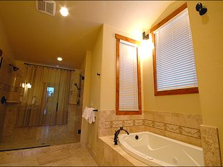Baldy Mountain Breckenridge house photo - Relax in the Jacuzzi Tub or Enjoy the Dual Head Showers