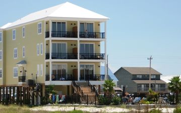Gulf Shores house rental - Back View of Dream Big