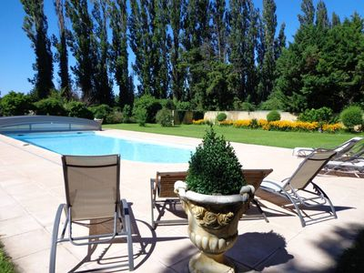 Large apartment (4 people) in the heart of Provence (France) with a swimming pool