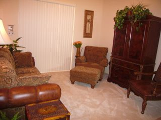 Cape Coral house photo - Quiet living room, 32' TV, 3 lighting levels