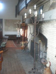 Great Hall Fireplace and Balcony