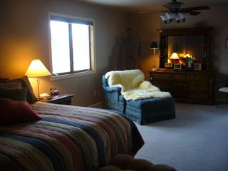 Littleton house photo - Oversize bedroom, reading area, spacious closet and private bathroom