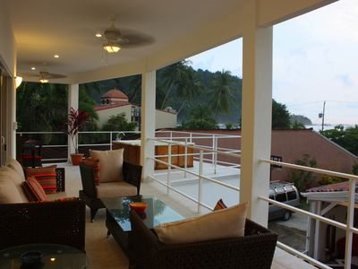 Another Ocean View Balcony and Jacuzzi deck