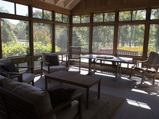 Vineyard Haven estate photo - Screened Porch