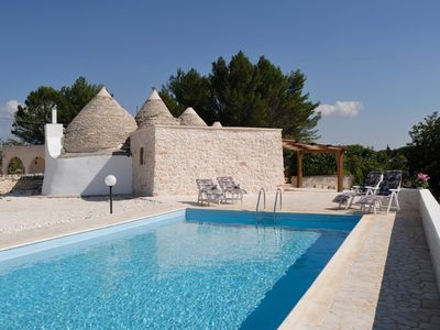 Alberobello villa rental - Beautiful trullo with private pool