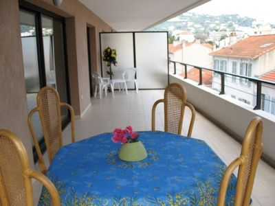 Centre-ville - Croisette apartment rental - Very large south facing balcony