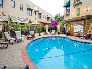 Coronado condo photo - Outdoor Swimming Pool at the El Cordova Hotel