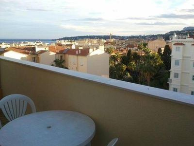 Apartment 51 m2, near beach (300m) and the city center, 2 terraces, quiet