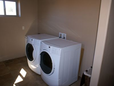 High Capacity Washer and Dryer
