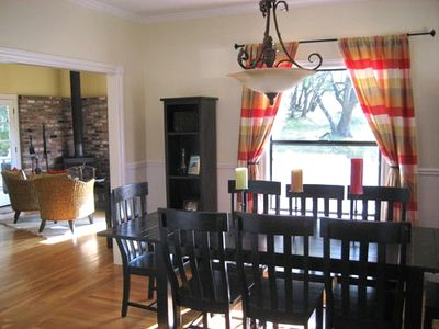 Forestville house rental - Dining Room, Seating for Eight