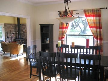 Dining Room, Seating for Eight