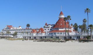 Mission Beach townhome photo - Hotel Del Coronado - a taxi ride away. Shopping and Restaurants on the island.