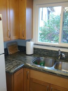 San Clemente apartment rental - New custom cabinets and very efficient kitchen.
