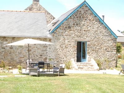 Breton Farmhouse and Cottages with Heated Pool in 1 Acre Private Garden  - Les Hiboux