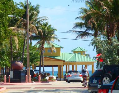 Lauderdale-by-the-Sea beach entrance is a five minute drive.