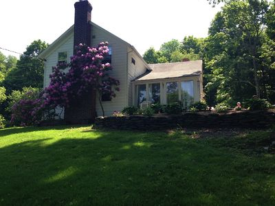 19 Century Hudson Valley farmhouse on 24 acres just 3 miles from Copake Lake