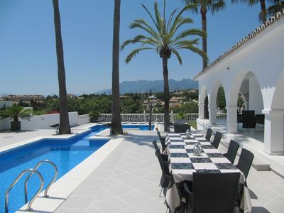 6 bedroom luxury villa (sleeps 12) in Marbella
