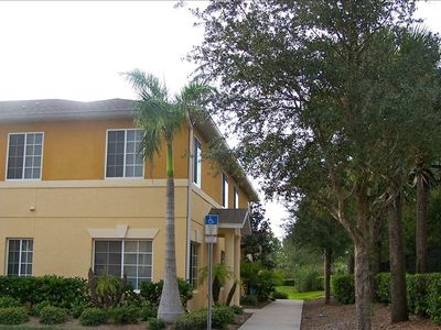 Venice townhome rental - We have an end unit with a view of the preserve.