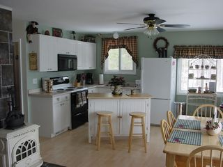 South Chatham cottage photo - kitchen & dining area