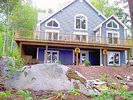 View of house from near the lake - Branch Lake house vacation rental photo