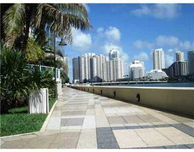Seawall Broadwalk alongside The Mark on Brickell for your daily walk or jog