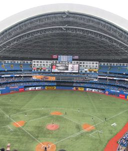 Catch a Blue Jays Game or a Concert at The Rogers Centre
