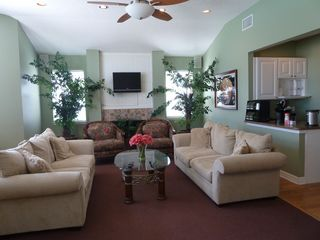 North Padre Island condo photo - Clubhouse sitting area with Free WI-FI