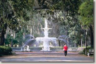 Savannah apartment photo - Forsyth Park