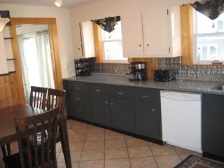 Hyannis - Hyannisport house photo - Eat in Kitchen with granite countertops