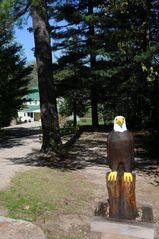 "North Conway house photo - The Eagle to greet you at the drive to ""Eagles View"""
