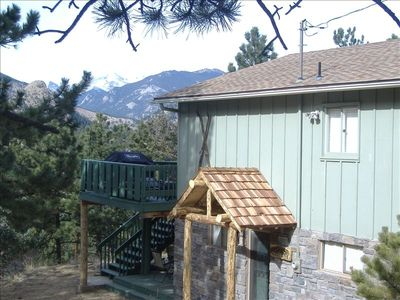 "Estes Mountain Views""- 2 Large Decks Mountain Side With Awesome Views"