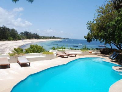 image for Kenyan family villa with beautiful  pool, private beach access, stunning views.