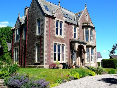 image for Elegant Victorian self catering flat (5 people) in Crieff, the heart of Scotland
