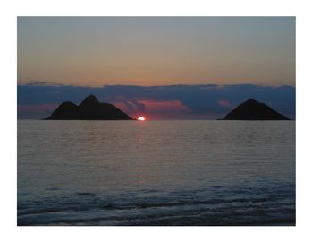 Sunrise - another fabulous day in Kailua, Tropical Sands Suite