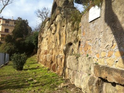 The Servian Wall in Aventino